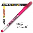 Highlighter Accu Gel Bible Hi Glider Pink