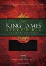 KJV Study Bible 2nd Edition: Leather | Black