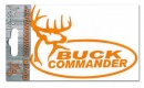 Buck Commander Decal (Orange)
