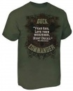 Duck Commander Fear God, Love Your Neighbor Shirt (Large)