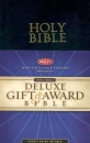 NKJV Gift & Award Bible: Leather Flex | Black